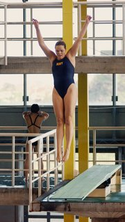 Competitive diving